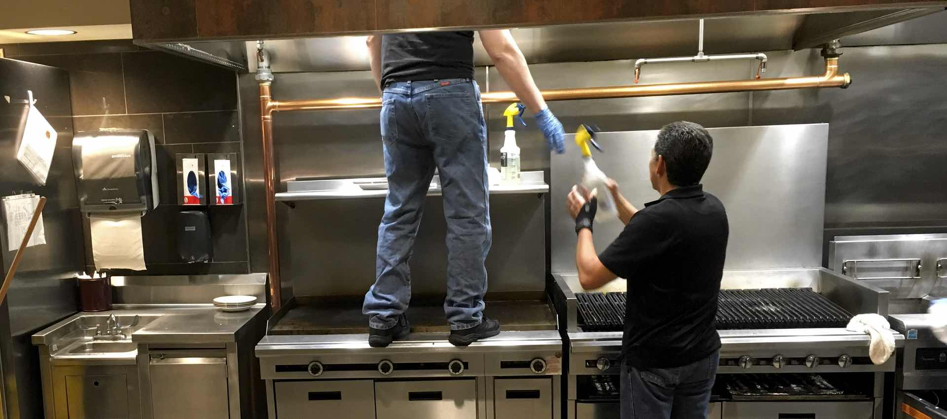 Vent Hood Cleaning Safety Tips for You & Your Crew