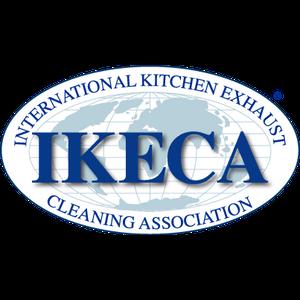 Logo for IKECA, International Kitchen Exhaust Cleaning Association