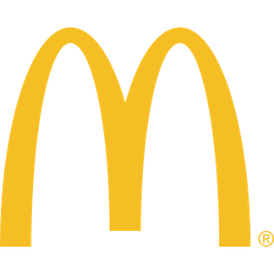 Logo for McDonalds restaurant